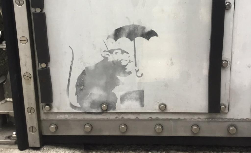 バンクシー ネズミの絵