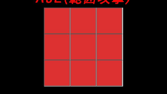 AoE(範囲攻撃)